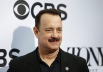 Tom Hanks con bigote